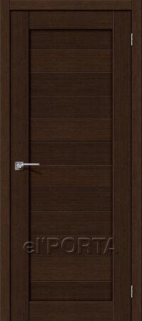 Дверь межкомнатная el-PORTA(Эль Порта) Porta-21 3D Венге глухая