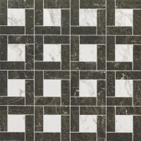 Керамическая плитка Italon 610080000164 Class White Inserto Precious 45х45