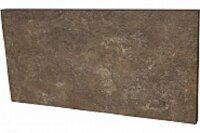 Керамическая плитка Paradyz Клинкер Ilario Brown подступенок структурный 30x14.8