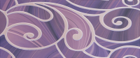 Керамическая плитка Gracia Ceramica Arabeski purple decor 01 250х600