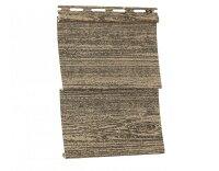 Cайдинг виниловый Ю-Пласт Тимбер-Блок Альпийская ель (3050х230мм) 0.7м²