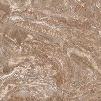 Керамическая плитка Kerranova Premium Marble светло-коричневый 60х60см