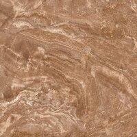 Керамическая плитка Kerranova Premium Marble коричневый 60х60см