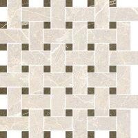 Керамическая плитка Vitra Marmori Пулпис Мозаичный Микс Кремовый 31.5x31.5