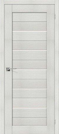 Дверь межкомнатная el-PORTA(Эль Порта) Porta-22 Бьянко Вералинга остекленная