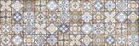 Керамическая плитка Cersanit Atlas ATS451 многоцветный рельеф 20х60см