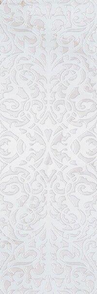 Керамическая плитка Gracia Ceramica Stazia white decor 01 300х900