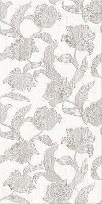 Керамическая плитка Azori Mallorca Grey настенная Floris 63x31.5