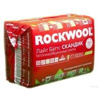 Утеплитель Rockwool Лайт Баттс Скандик 800х600х50мм (5.76м2)
