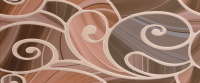 Керамическая плитка Gracia Ceramica Arabeski venge decor 01 250х600
