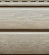 Cайдинг виниловый Ю-Пласт Блок-хаус Бежевый (3400х230мм) 0.78м²