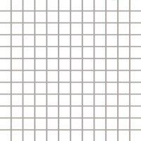 Керамическая плитка Paradyz Мозаика Albir Bianco 29.8х29.8 чип 2.3х2.3