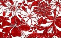 Керамическая плитка Нефрит-Керамика Декор Кураж-2 Жаклин красный 25х40