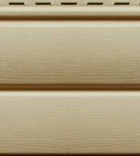Cайдинг виниловый Ю-Пласт Блок-хаус Кофе с молоком (3400х230мм) 0.78м²