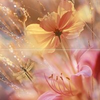 Керамическая плитка Сeramica Сlassic Flowers Панно 1D 40х40