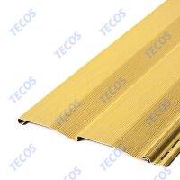 Сайдинг виниловый Tecos(Текос) Корабельный брус Золотой песок (3660х230мм) 0.842м²