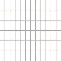 Керамическая плитка Paradyz Мозаика Albir Bianco 29.8х29.8 чип 2.3х4.8