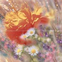 Керамическая плитка Сeramica Сlassic Flowers Панно 2D 40х40