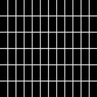 Керамическая плитка Paradyz Мозаика Albir Nero 29.8х29.8 чип 2.3х4.8