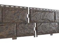 Фасадная панель Ю-пласт Стоун-Хаус Камень Жженый (3025мм*225мм) 0.68м²