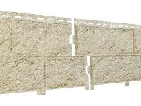Фасадная панель Ю-пласт Стоун-Хаус Камень Золотистый (3025х225мм) 0.68м²