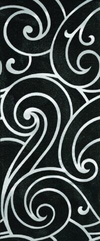 Керамическая плитка Gracia Ceramica Prime black decor 02 250х600