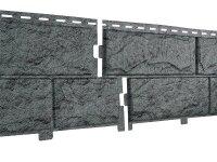 Фасадная панель Ю-пласт Стоун-Хаус Камень Изумрудный (3025х225мм) 0.68м²