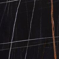 Керамическая плитка Kerranova Marble Trend черный 60х60см