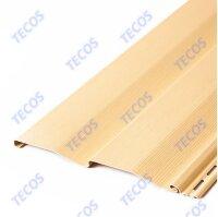 Сайдинг виниловый Tecos(Текос) Корабельный брус Слоновая кость (3660х230мм) 0.842м²