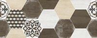 Керамическая плитка Керамин Винтаж 3Д 20х50см