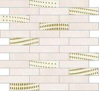 Керамическая плитка Delacora Baffin Beige Декор Mosaic Light 30.4x28.3