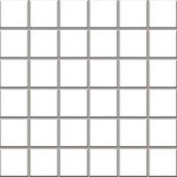 Керамическая плитка Paradyz Мозаика Altea Bianco 29.8х29.8 чип 4.8х4.8