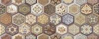 Керамическая плитка Azori Navarra Mocca Декор Arabesco 20.1x50.5