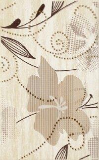 Керамическая плитка Paradyz Kwadro Doppia Beige декор В 25х40