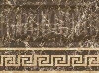 Керамическая плитка Kerlife Marmo Marron цоколь 10x20.1см