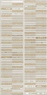 Керамическая плитка Azori Aura Marfil Декор Geometria 31.5x63