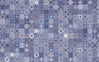 Керамическая плитка Cersanit Hammam HAG041 голубой рельеф 20х44см