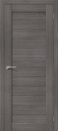 Дверь межкомнатная el-PORTA(Эль Порта) Porta-21 Grey Veralinga