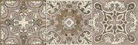 Керамическая плитка Lasselsberger Травертино декор орнамент 19.9х60.3см (3606-0016)