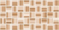 Керамическая плитка Нефрит-Керамика 09-00-5-10-30-11-440 Декор Меланж мозаика бежевый 25х50