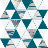 Керамическая плитка Delacora Blur Jungle Декор Mosaic 23.8x28.2