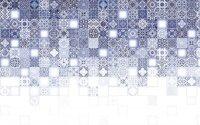 Керамическая плитка Cersanit Hammam HAG451 многоцветный рельеф 20х44см