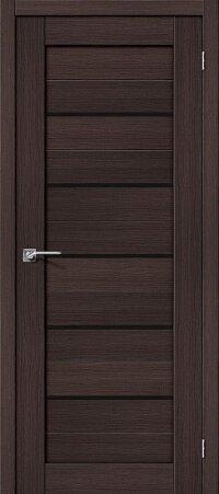 Дверь межкомнатная el-PORTA(Эль Порта) Porta-22 BS Wenge Veralinga