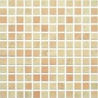 Керамическая плитка Paradyz Мозаика Penelopa Beige Brown 29.8х29.8 чип 2.3х2.3
