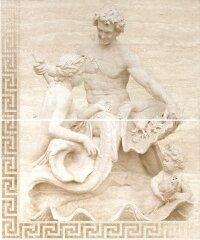 Керамическая плитка Gracia Ceramica Itaka beige panno 02 2 плиты 500х600