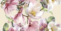 Керамическая плитка Azori Boho Carmin настенная Magnolia 63x31.5