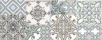 Керамическая плитка Azori Nuvola Aqua Декор Selena 20.1x50.5