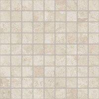 Керамическая плитка Coliseum Gres Сиена белый мозаика 30х30см