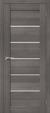 Дверь межкомнатная el-PORTA(Эль Порта) Porta-22 Grey Veralinga