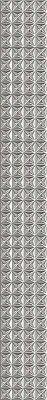 Керамическая плитка Azori Pandora Grey Бордюр Geometry 63x7.5